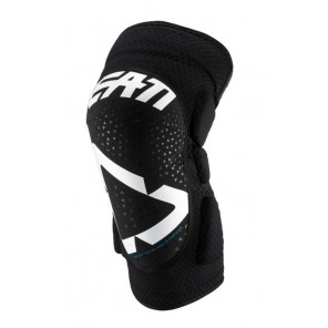 Leatt Knee Guard 3DF 5.0 Wht/Blk Junior