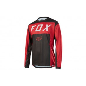 Fox 2017 Indicator LS MOTH red/black XL #promo
