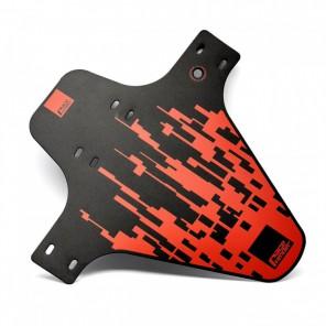 Błotnik przedni RACEFENDER Pixel czerwony + rzep