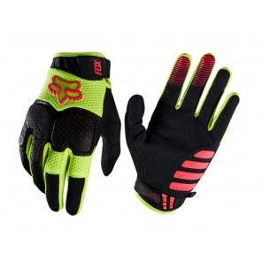Fox 2016 Unabomber rękawiczki-żółto-czerwony-L