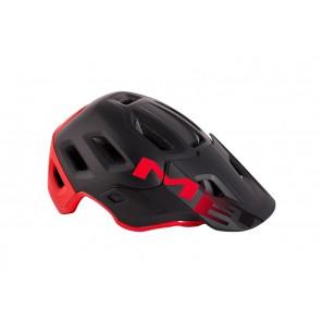 MET Kask Roam L czarno-czerwony