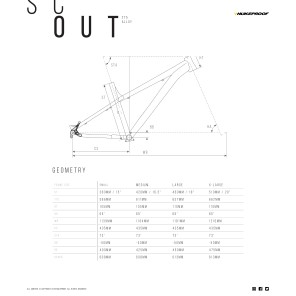 Nukeproof SCOUT 275 290 RACE rower (PREORDER -20%)