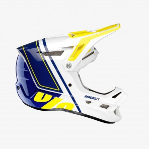 Kask full face 100% AIRCRAFT COMPOSITE Helmet Rastoma roz. M (57-58 cm) (NEW)