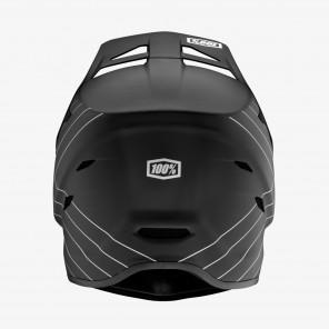 Kask full face 100% STATUS DH/BMX Helmet Essential Black roz. XXL (63-64 cm) (NEW)