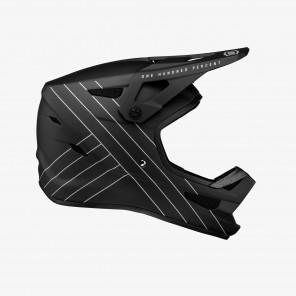 Kask full face 100% STATUS DH/BMX Helmet Essential Black roz. M (57-58 cm) (NEW)