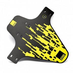 Błotnik przedni RACEFENDER Pixel żółty + rzep