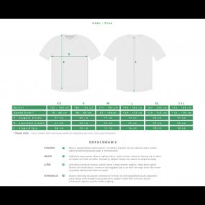 Koszulka ROCDAY Peak Sanitized granatowy/zielony